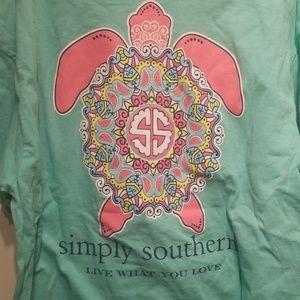 NWOT simply southern tshirt